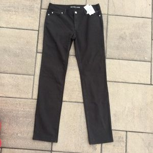 Micheal Micheal Kors Stretch Skinny Jeans Black 8